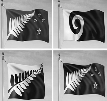 #Hypnoflag: New Zealand's flag designs revealed. One design stands out more than the rest.